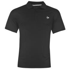 Dunlop Plain férfi póló fekete 3XL
