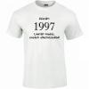 Tréfás póló 20 éves, Készült 1997...   (L)