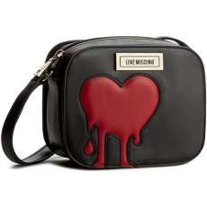 Love moschino Táska LOVE MOSCHINO - JC4096PP13LQ100B Nero/Rosso