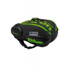 Wilson Unisex Tenisztáska VANCOUVER 15 PACK BKGR