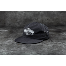 HUF x Thrasher Tour De Stoops 6 Panel Cap Black