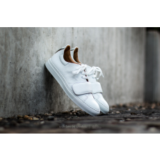 Marco Laganà Sneaker Strap White Leather-White Sole