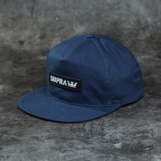 Supra Mark Patch Snapback Navy