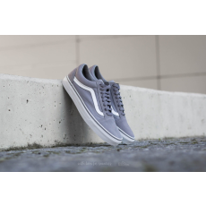 Vans Old Skool (Suede/ Canvas) Frost Gray/ True White