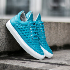 Filling Pieces Low Top 3D Cubic Turquoise