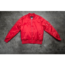 ![CDATA[Urban Classics ]] ![CDATA[Urban Classics Basic Bomber Jacket Fire Red]]