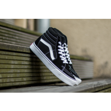 Vans Sk8-Hi Lite (Suede/ Canvas) Black/White
