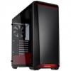 Phanteks Eclipse P400 Midi-Tower, edzett üveg - fekete/piros /PH-EC416PTG_BR/