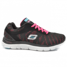 Skechers 11886/BKHP BLACK/HOT PINK
