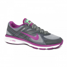Nike NIKE WMNS DUAL FUSION TR 2 G CL GRY/BRGHT GRP-LT LCD GRN-VL
