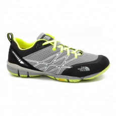 North Face M ULTRA KILOWATT MD MONUMENT GREY/DAYGLO YELLOW