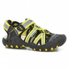 Geox J42E1C 014CE C9B3S BLACK/LIME GREEN