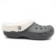 CROCS 203596-00Z F BLACK/OATMEAL