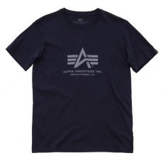 Alpha Industries Basic T - replica blue