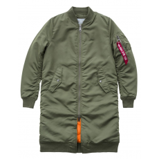 Alpha Industries MA-1 Coat RIB Női - sage green