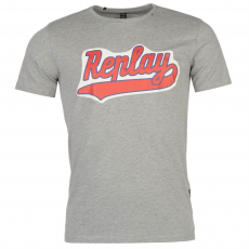 Replay Póló Replay Chest Logo fér.