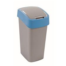 CURVER Billenős szelektív hulladékgyűjtő, műanyag, 50 l, CURVER, kék/szürke (UCF04) szemetes