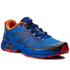 Salomon Cipők SALOMON - Wings Pro 2 392643 27 W0 Nautical Bluie/Flame/Black