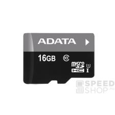 ADATA microSDHC 16GB UHS-I (Class 10) + Adapter (AUSDH16GUICL10-RA1) memóriakártya