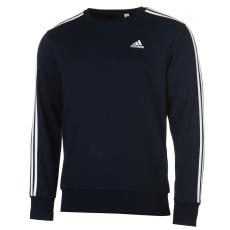 Adidas Felső adidas Essentials 3 Stripe Crew fér.