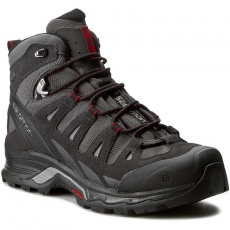Salomon Bakancs SALOMON - Quest Prime Gtx 392927 27 V0 Magnet/Black/Red Dalhia