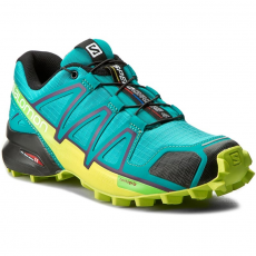 Salomon Cipők SALOMON - Speedcross 4 W 392402 20 V0 Deep Peacock Blue/Lime Punch./Grape Juce