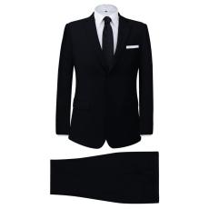 két darabos férfi öltöny méret 48 fekete