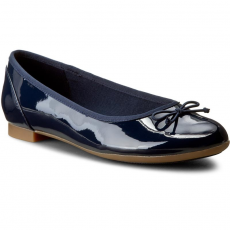 Clarks Balerina CLARKS - Couture Bloom 261185194 Navy Patent