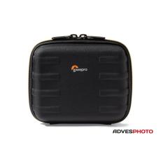 Lowepro SANTIAGO 30 II fekete-narancs, kompakt fényképezőgép táska