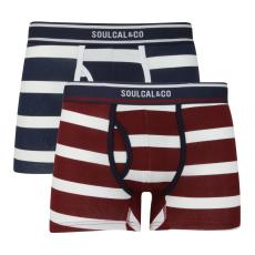 Soul Cal Boxeralsó SoulCal Block Stripe fér.