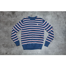 by Parra Stripes Knitted Pullover Navy