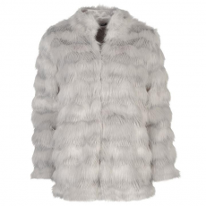 Golddigga női kabát - Golddigga Faux Fur Jacket Ladies