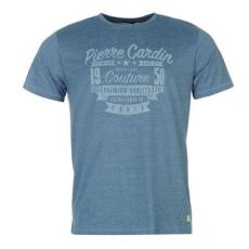 Pierre CardinIndigo Print férfi póló
