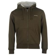 Pierre Cardin Full Zip férfi kapucnis pulóver| felső