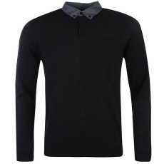 Pierre Cardin Collar férfi kötött pulóver