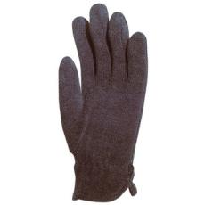 MV polárkesztyű 4250, bélelt, fekete , rugalmas poliészter kézhát 10