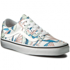 Vans Teniszcipő VANS - Old Skool VN0A38G1MQN (Tropical Leaves) True White