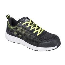 FT15 - Steelite Tove Trainer védőcipő, S1P - fekete / zöld (38)