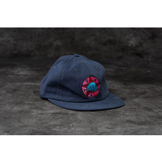 by Parra Party 6 Panel Hat Navy Blue