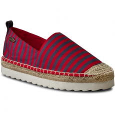BIG STAR Espadrilles BIG STAR - W274001 Red Stripes