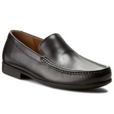 Clarks Mokaszin CLARKS - Claude Plain 261243127 Black leather