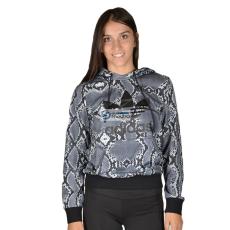 ADIDAS ORIGINALS Női Belebújós pulóver TRF LOGO HOODIE