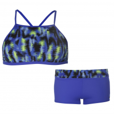 Nike Fürdőruha Nike Blue Halter Neck 2 Piece női