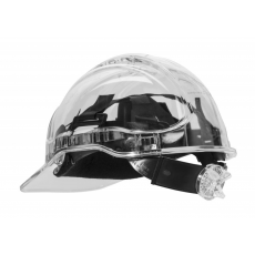 PV60 - Peak View Plus gyorsbeállítós, átlátszó védősisak, szellőző - víztiszta