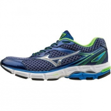Mizuno Wave Connect 3 férfi futócipő, Blue/Silver, 42 (J1GC1648-04-9)