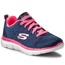 Skechers Cipők SKECHERS - High Energy 81655L/NVHP Nvy/Htpink