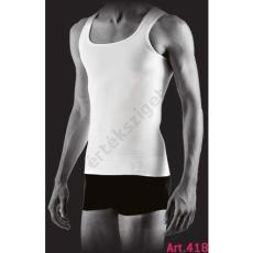 Alakformáló férfi atléta, Farmacell 418, fehér, XXL