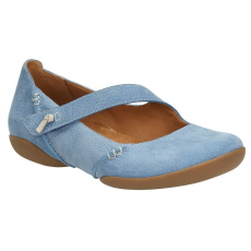 Clarks Felicia Plum kék