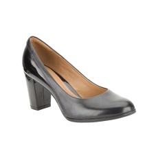 Clarks Basil Auburn fekete cipő