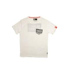 Dorko rövidujjú felső HP T-Shirt, férfi, fehér, pamut keverék, L